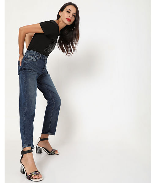 Women's Juice In Boyfriend Fit Jeans