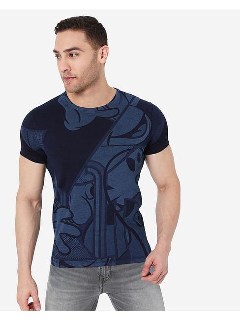 Men's Scuba Mouse In Crew Neck T-Shirt