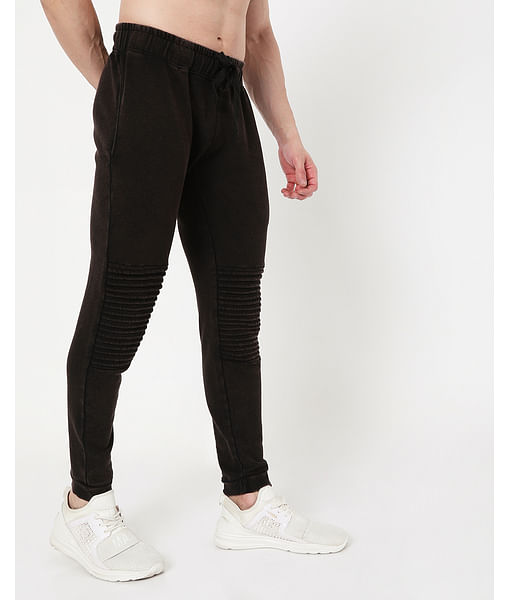 Men's Cobain Washed In Slim Fit Trackpants