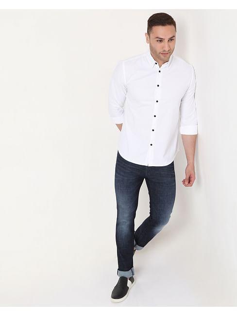Men's Andrew Mix In Slim Fit Shirt