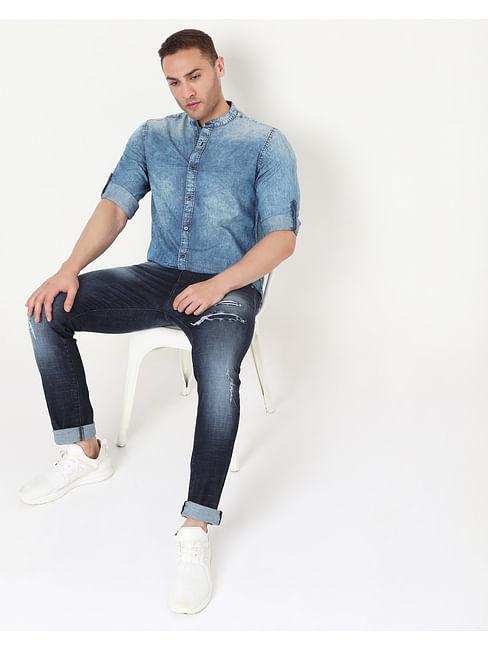 Men's Mohr Wo.P. In Slim Fit Shirt