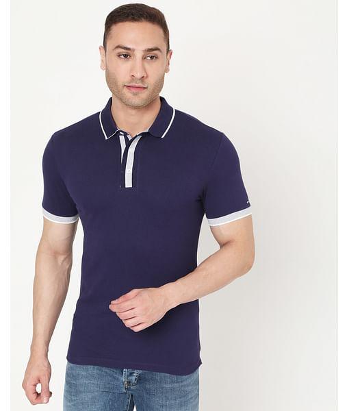 Men's Agap In Slim Fit Polo