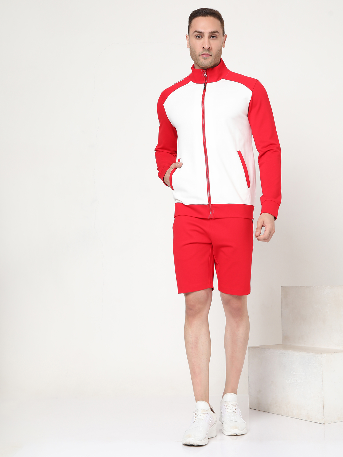 Men's Zippo Contrast In Slim Fit Sweatshirt