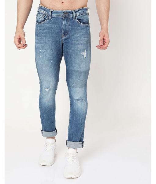 Men's Albert Simple Slim Fit Jeans