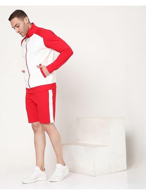 Men's Scott Contrast In Slim Fit Shorts