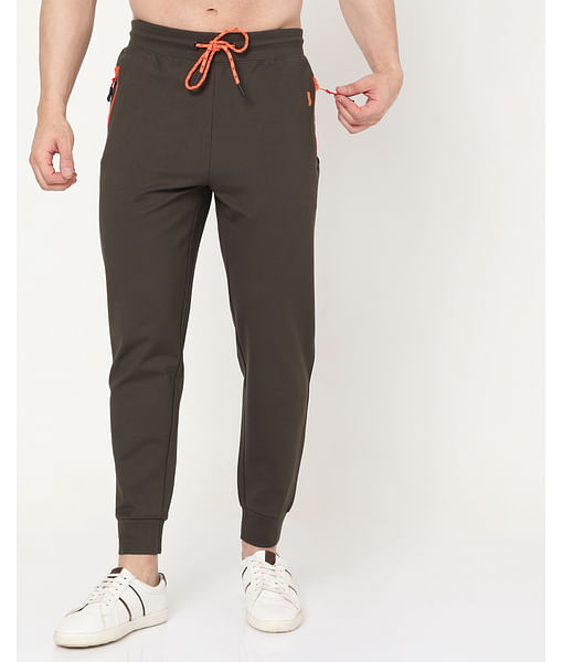 Men's Radar Fluo In Slim Fit Trackpants