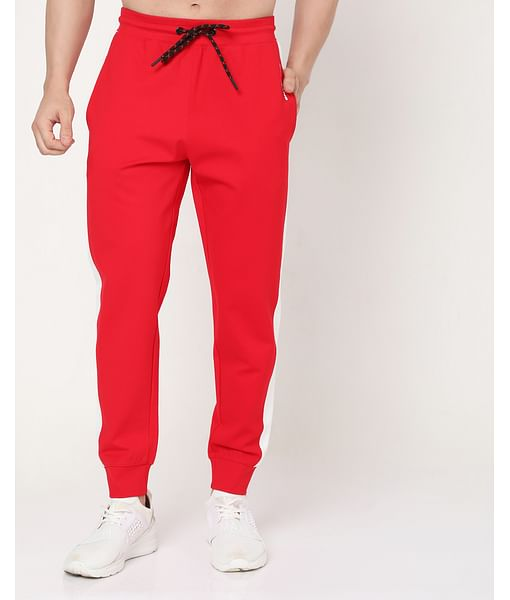 Men's Radar Contrast In Slim Fit Trackpants