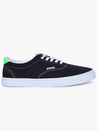Low-Top Lace-Up Plimsolls