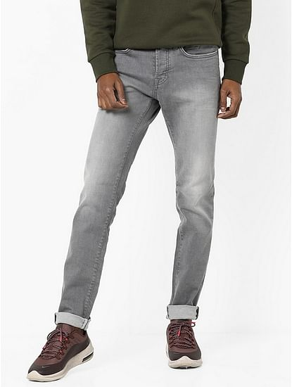 Men's Anders Slim Fit Grey Jeans
