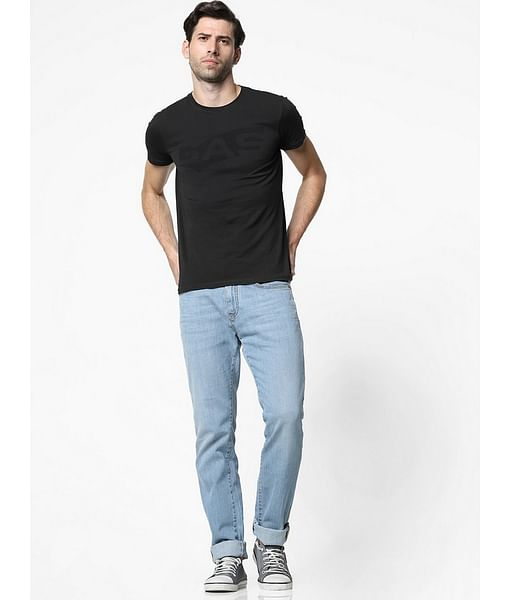 Men's Albert Simple Slim Fit Light blue Jeans