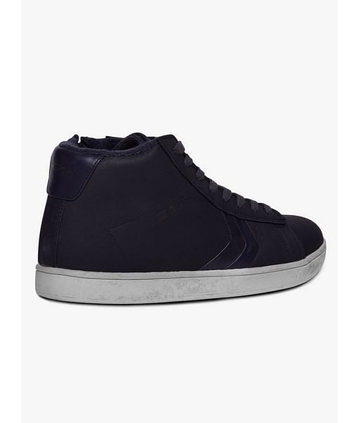 High-Top Lace-Up Casual Shoes