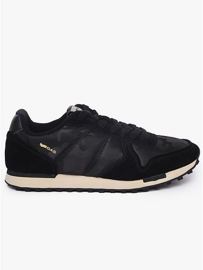 Panelled Low-Top Lace-UP Casual Shoes