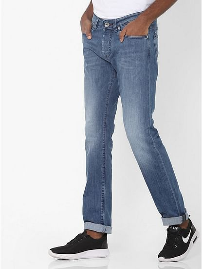 Men's Anders Slim Fit Blue Jeans