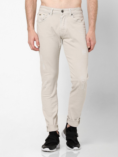 Men's Norton Carrot Fit Cream Jeans
