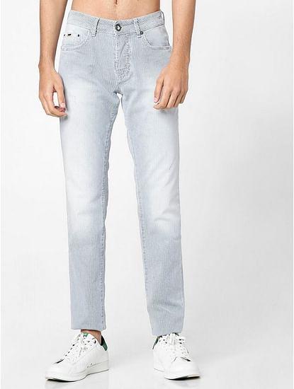 Men's Anders Slim Fit Striped Jeans