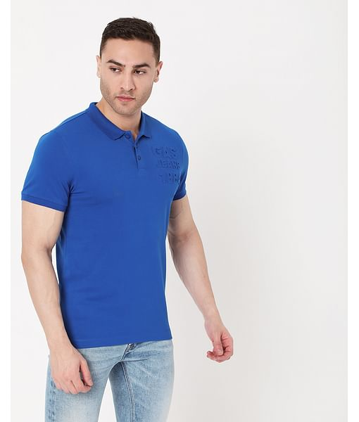 Men's Ralph Emboss In Slim Fit Polo
