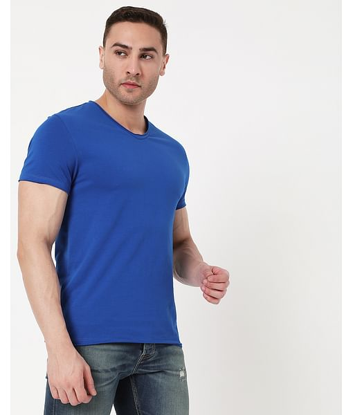 Men's Scuba V Basic In V-Neck T-Shirt