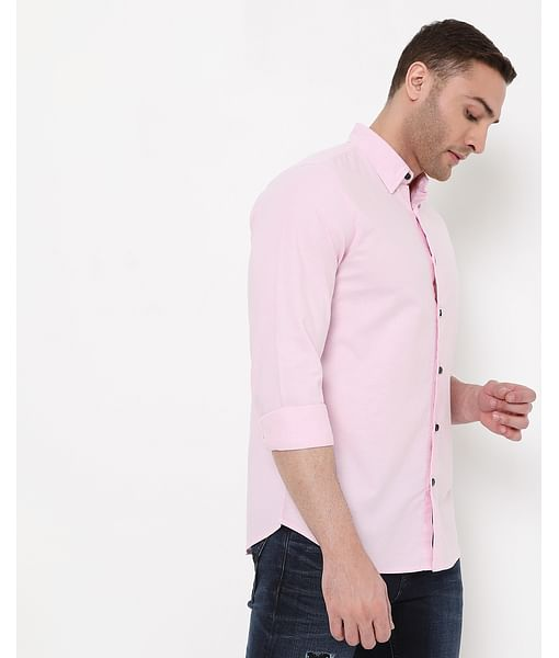 Men's Andrew Mix In Slim Fit Shirt