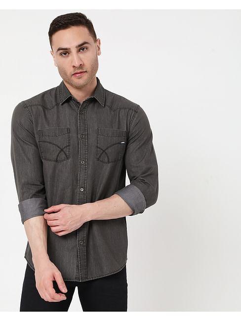 Men's Kant Wo. F. In Slim Fit Shirt