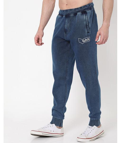 Men's Radar Indigo In Slim Fit Trackpants