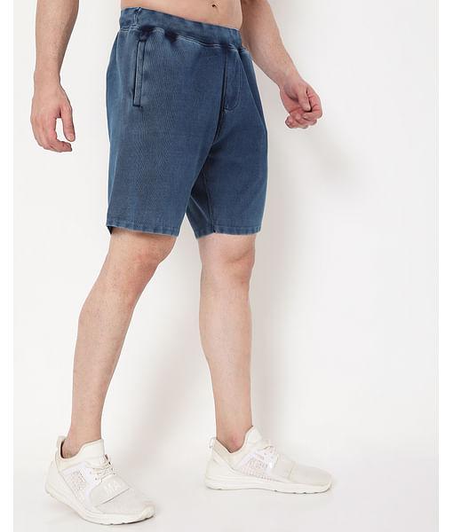 Men's Scott Indigo In Slim Fit Shorts