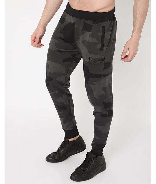 Men's Radar Camo In Slim Fit Trackpants