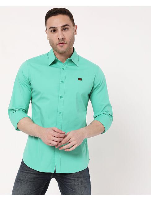 Men's  Andrew In Slim Fit Solid shirt