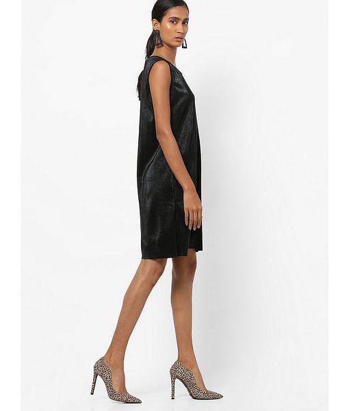 Women's regular fit round neck sleeveless Liber dress