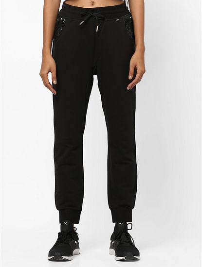 Women's anti-fit mid rise Ibel sequins joggers