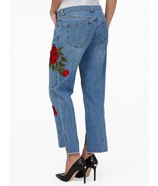 Women's Juice roses jeans