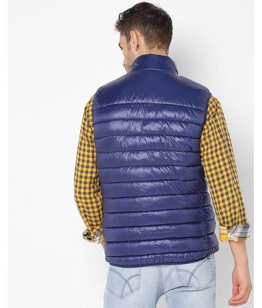 Men's Dirk Gilet Blue All Over Printed Jackets