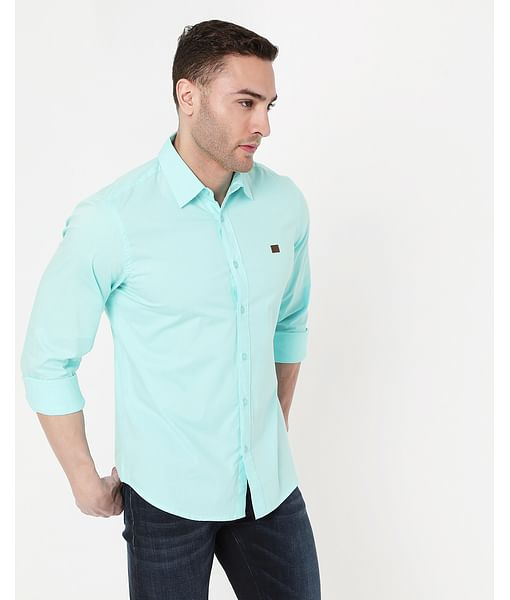 Men's  Andrew In Slim Fit Solid shirt