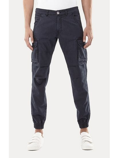 Navy Joggers Jeans