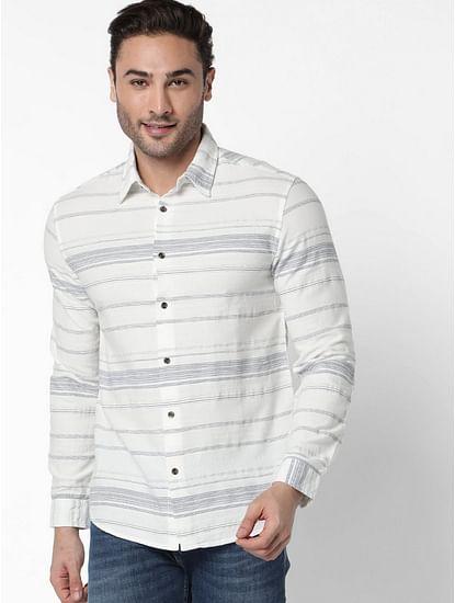 Men's Sir Det Striped Slim Fit Shirt