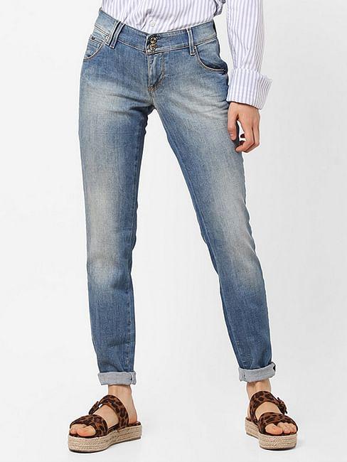 Women's mid wash Sheyla jeans