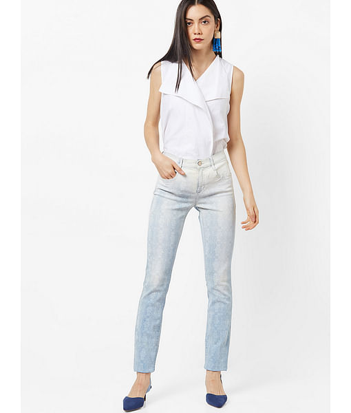 Women's printed Sophie jeans