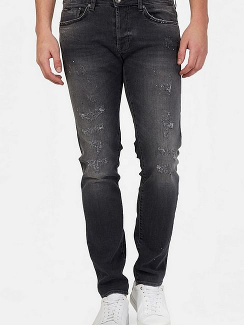 Men's Basic Anders Slim Fit Grey Jeans