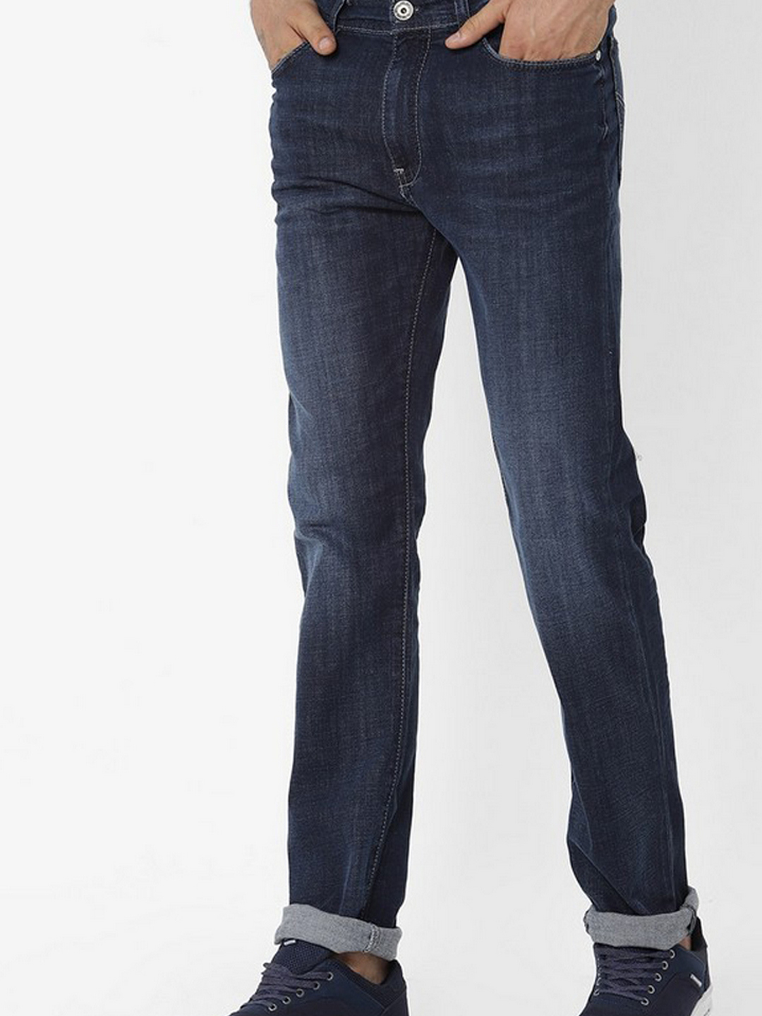 Men's Memphis Straight Fit Blue Jeans