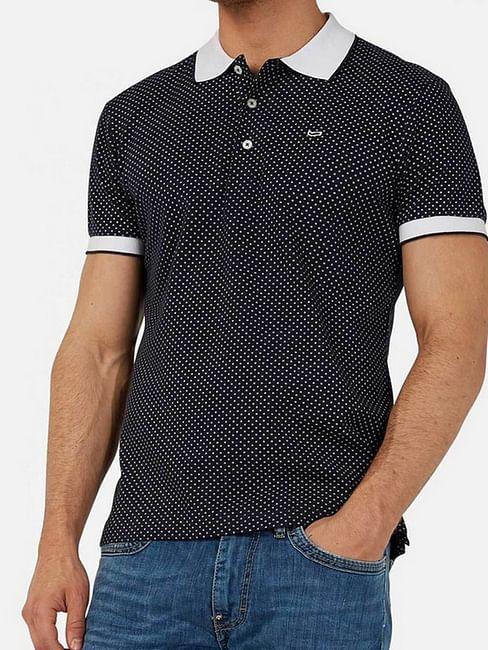 Men's Ralph/s star printed blue polo shirt