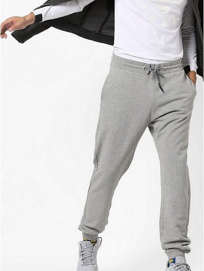 Mid-Rise Joggers with Drawstring