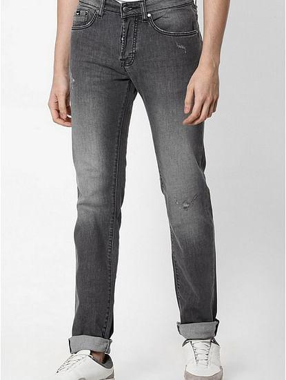 Men's Anders Slim Fit Grey Jeans