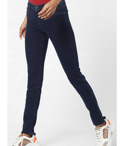 Women's Sumatra skinny fit mid rise jeans