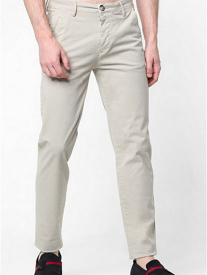 Sadeck Flat-Front Slim Fit Trousers