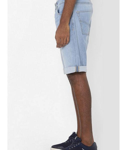 Men's Norton carrot blue denim shorts