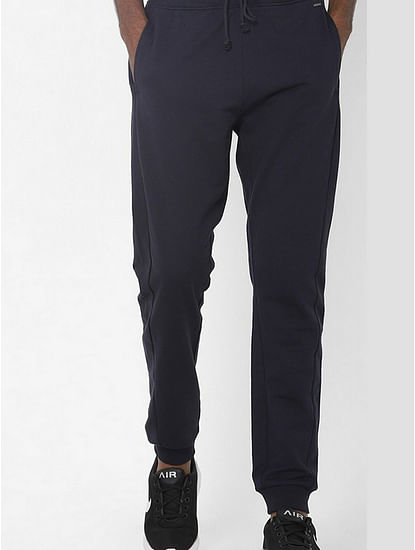 Radir Mid-Rise Jogger Pants with Slip Pockets