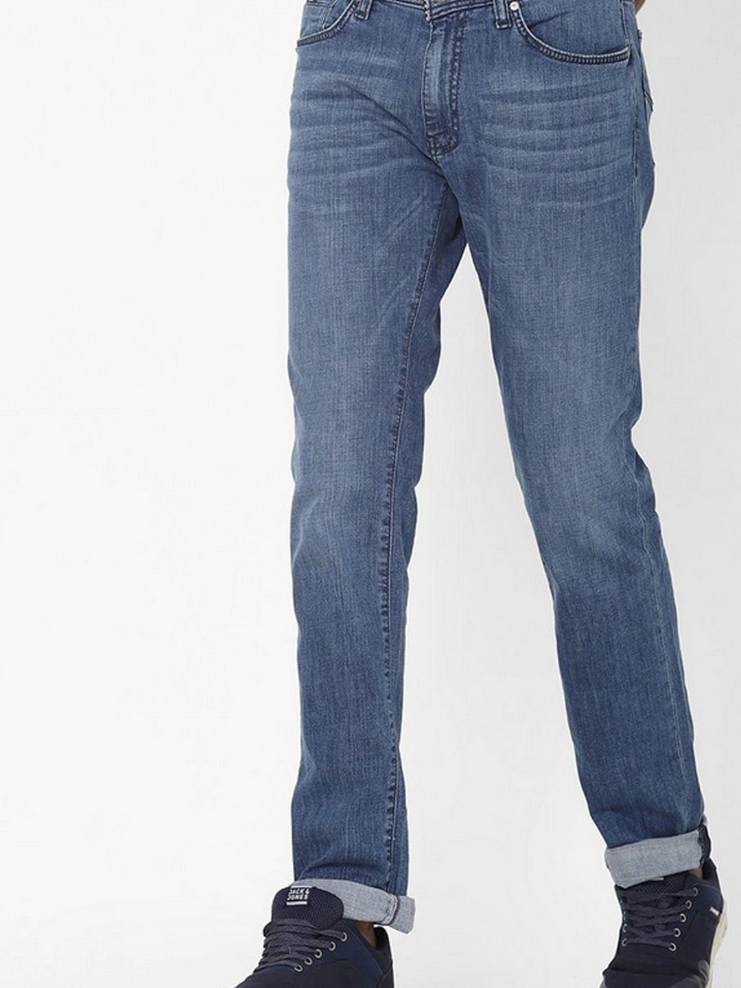 Men's Albert S.Taylor Slim Fit Blue Jeans