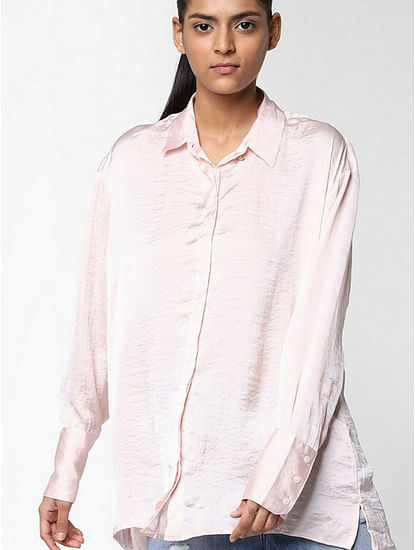Women's regular fit collared full sleeve Willys shirt