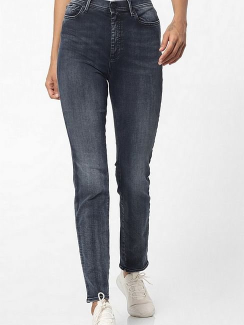 Women's slim fit mid wash Soraia X jeans