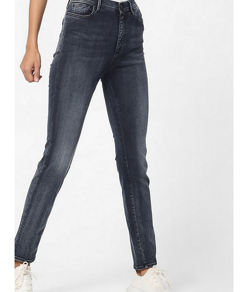 Women's slim fit mid wash Soraia X jeans