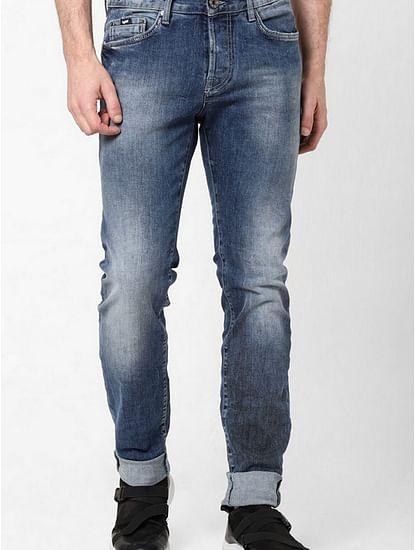 Men's Anders Slim Fit Mid blue Jeans
